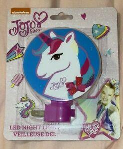 Jojo Siwa Unicorn LED Night Light NEW!