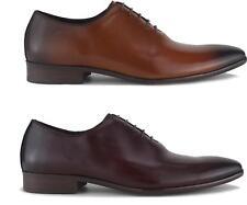 Blakeseys MASHAM Mens Leather Plain Toe Lace Up Formal Office Smart Oxford Shoes