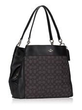 Coach Lexy Canvas Shoulder Bag in Outline Signature Smoke 2514