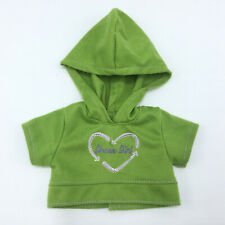 Battat Green Girl Shirt with Hoodie Doll Clothes American Girl Outfit