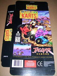 Atari Jaguar 64-Bit Games Console NEW 5 x Original Game Boxes CHOOSE FROM LIST