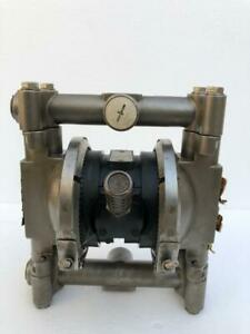 """GRACO HUSKY 716 PART NO.D54311 3/4"""" SS AIR OPERATED DOUBLE DIAPHRAGM PUMP #2"""