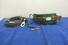 New listing Klein Tools Used 5268N-18 Linesman Climbing Belt Includes Safety Belt Lanyard