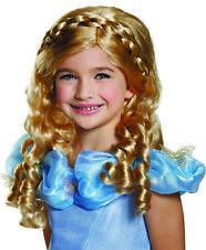 Cinderella Movie Child Wig Child Girls Costume Accessories