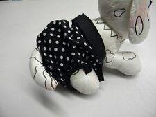 culotte chienne chaleur confort ventre 32/40cm noir poids creation toutou