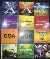 12 Alben GOA Trance 22 CD Paket Konvolut Sammlung Album Konvolut