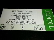 Blue Rodeo Concert Ticket