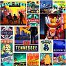 "Tennessee Raleigh America Fridge Magnet Poster Cute Retro Art State USA 2x3"""