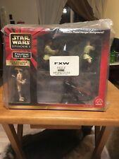 STAR WARS Episode 1 Figurine Gift Set (NOS) Darth Maul, Qui-Gon Jinn & Obi-Wan