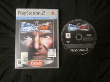 PS2 : SMACKDOWN VS RAW ! Disco prima stampa !