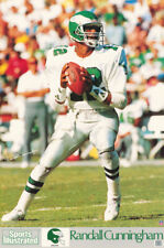 POSTER: NFL FOOTBALL: RANDALL CUNNINGHAM  PHILADELPHIA EAGLES QB -  #7213 RC11 D
