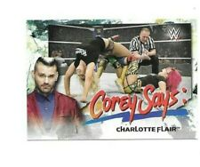 2019 TOPPS WWE CHARLOTTE FLAIR WRESTLING CARD #CG6