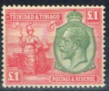 Trinidad and Tobago (until 1962) Single Stamps