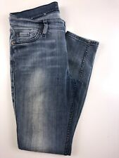 7 for all mankind Ankle Gwenevere Skinny Distressed Light Wash 27. 27x28x9x9