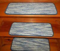 "14 Step  9'' x 25''  Landing  28"" x 24""  50% Tencel /40% Wool /10% Nylon Carpets"