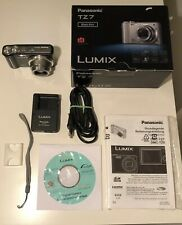 Panasonic LUMIX DMC-TZ7 10.1 MP Digitalkamera - Schwarz TOP ZUSTAND! Z556