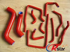 Silicone Radiator Hose for Subaru Impreza WRX/STi GDA/GDB EJ207 2002-2007 RED