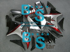 Silver INJECTION Fairing Plastic Fit Yamaha YZF-R1 2002-2003 008 A5