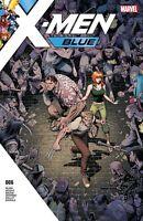 X-MEN BLUE #6 CVR A Marvel Comics 2017 NM