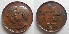medaglia Umberto I e la famiglia reale in visita a Messina 1881 65mm