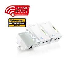 TP-Link TL-WPA4220TKIT AV500 Powerline 300M Wi-Fi Extender with 2 LAN Ports X 3