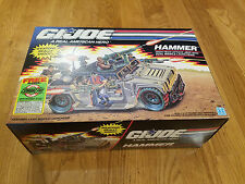 G.I. Joe HAMMER High tech Attack Jeep with Dual Missile Launchers MIB LOOK WOW!!