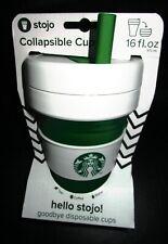2019 Starbucks stojo cups green white free shipping
