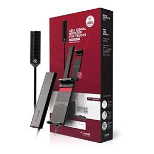 weBoost Drive Sleek OTR 470235 Single User Cell Phone Signal Booster Trucker Kit