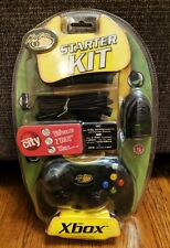 Mad Catz Microsoft Xbox Starter Kit Controller Cables Memory Card Brand New