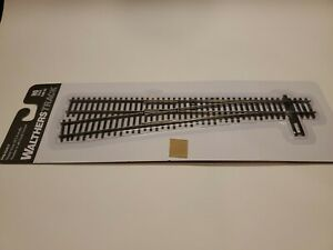 Walthers Ho Scale Code 83 Number 6 Left Turnout