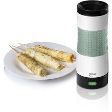 Elgento vertical Cilindro Parrilla Para Huevo & tortilla Maker + Receta Guía en verde