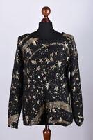 Ladies Desigual Knitted Jumper Size XL