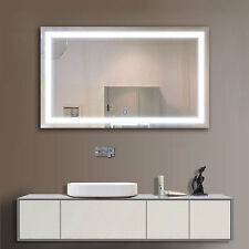 Led Bathroom Mirror 40 X24 Illuminated Lighted Vanity Wall Horizontal