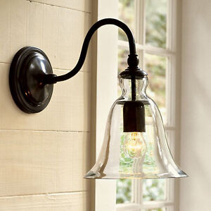 Swing Arm Wall Lights Kitchen Glass Wall Lamp Room Lighting Indoor Wall Sconce