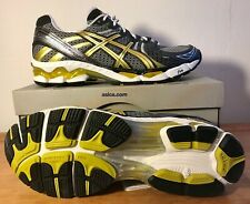 *NEU* 11 / 45 ASICS - Gel-Kayano 17 - Running - T100N 9094 black,gold,white OVP