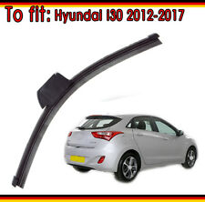Hyundai i30 2012-2017 (Hatchback and Estate) Exact Fit Rear Wiper Blade Quality