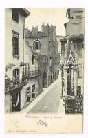 Vintage Postcard Italy 1910 ca. VERONA CASA DI ROMEO ROMEO'S HOME VENETO