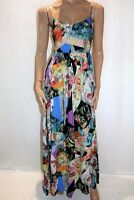 ASOS Women's Multi Floral Print Maxi Dress Size 10 BNWT #TM87