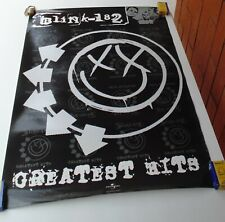 BLINK 182 GREATEST HITS POSTER SONY MUSIC COLOMBIA 2005