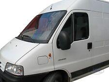 """DFI15123 Peugeot BOXER 96 - 06 """"L"""" wind deflectors 2 pcs set TINTED HEKO"""