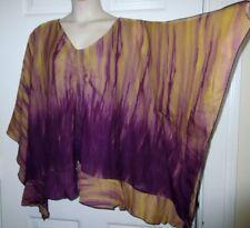 NWT Russell Kemp Catherine's 4x Kimono Doman Batwing Blouse Top Split Sleeve