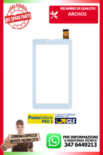 "TOUCH SCREEN ARCHOS 70 COPPER Tablet VETRO Digitizer 7,0"" BIANCO"