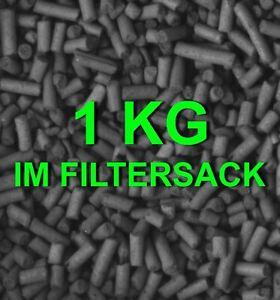 Aquarium 🍀 AKTIVKOHLE 1 kg ✚ FILTERSACK 🍀 Filter Zubehör Wasserfilter