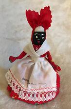 Vintage Souvenir of New Orleans Black Americana Dressed Lady Bell