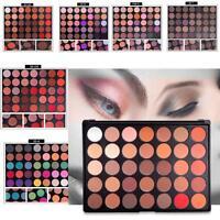 35 COLORES BRILLO MATE Sombra De Ojos Paleta de sombras Pro Maquillaje Cosmético
