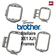 Genuine Brother Embroidery Machine Hoop Frames - STELLAIRE - XE1 XJ1
