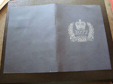 ROYAUME-UNI - document vignettes 1977 (album/livre) (cy62) united kingdom