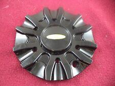 Baccarat Wheels Gloss Black Custom Wheel Center Cap # C2160 B / SJ107-08 (1 CAP)