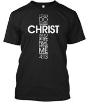 Great gift I Can Do All Things Through Christ - Who Hanes Tagless Tee T-Shirt