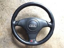Audi/VW B5 A4 / S4 OEM Steering Wheel Black Leather With Airbag